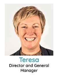 General Manager Teresa