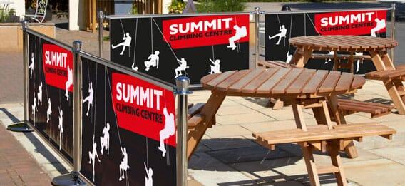 Primo Slide Cafe Barrier