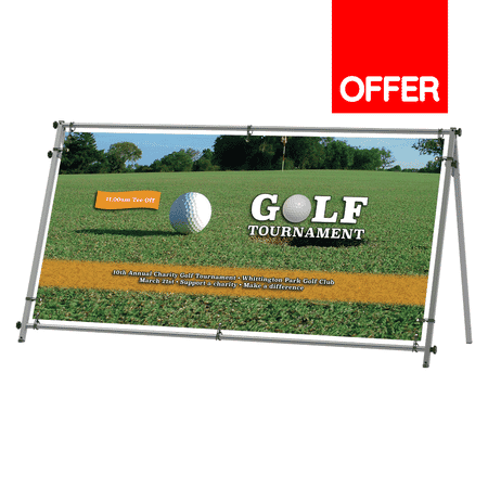 Vision Outdoor A-banner