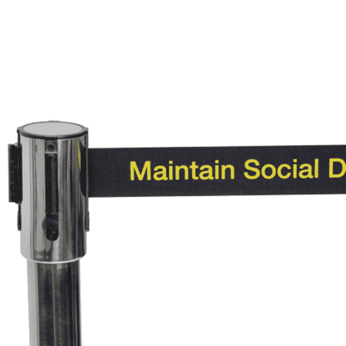 Maintain Social Distance Belt - CloseUp