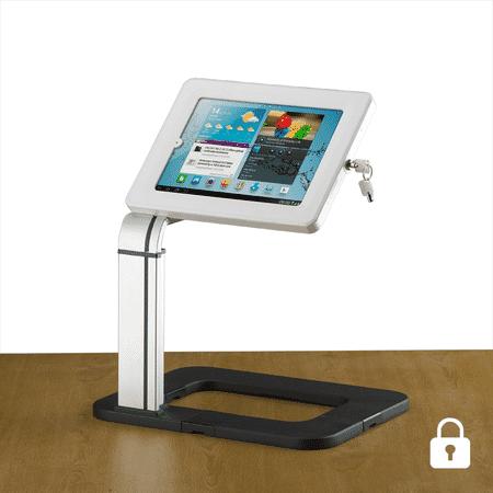 locking universal desktop tablet holder