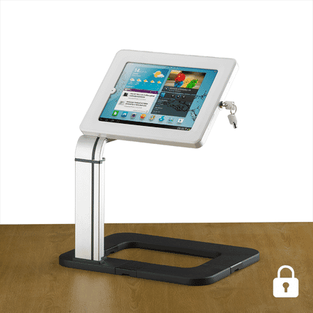 locking universal desktop tablet holder
