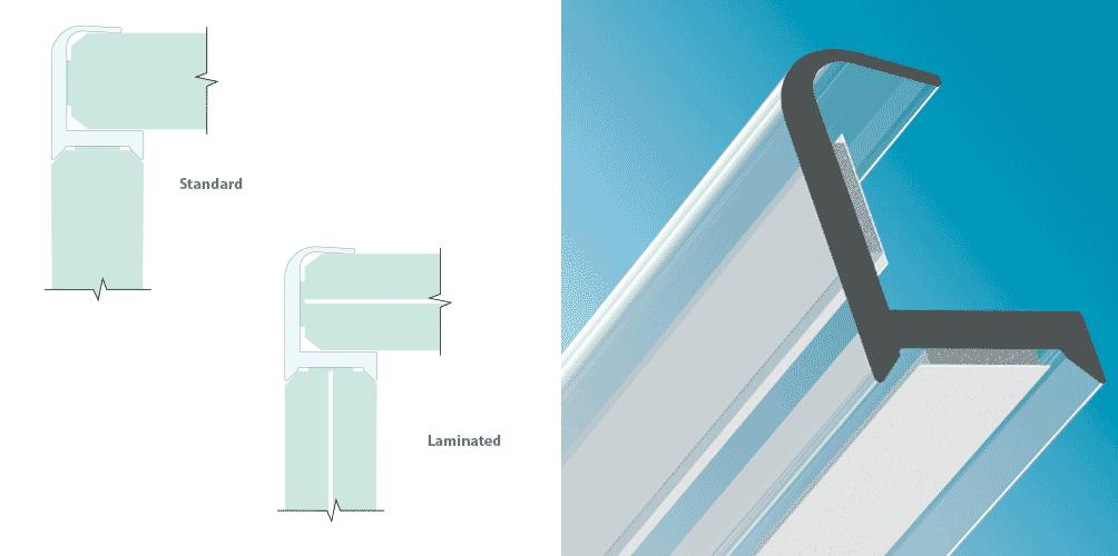 90-Grad-Eckenschutzverbindung