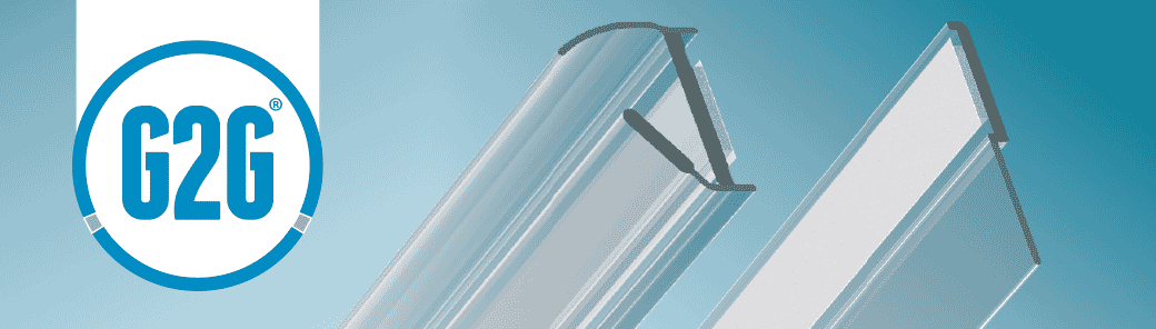 G2G glass door seals