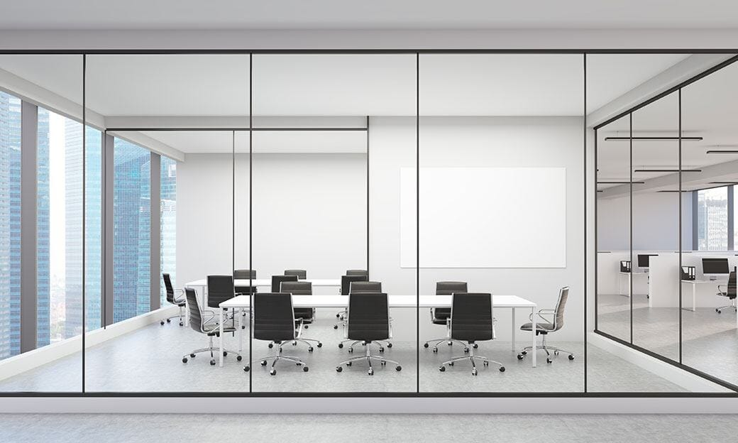 Glass to Glass office design