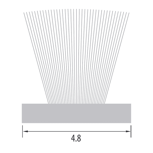 4.8mm Woven Base Pile