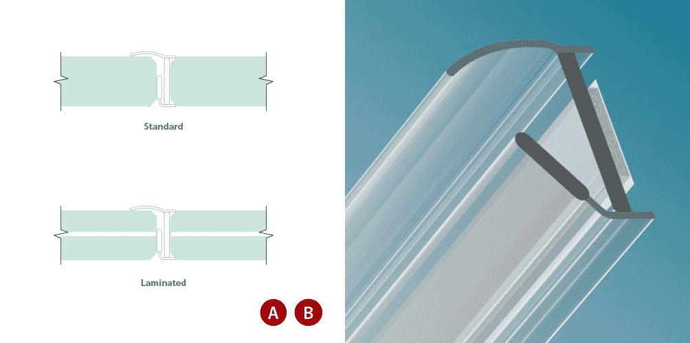 Joint latéral pour vitrage