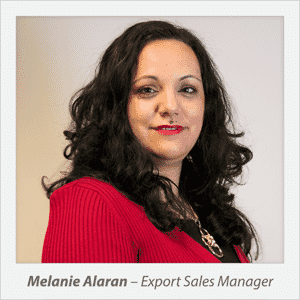 Melanie Alaran - Export Sales Manager