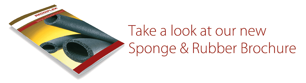 sponge rubber brochure news header